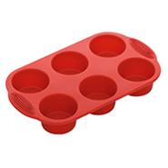 Форма для 6 круглых маффинов Míla, силиконовая