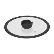 Стеклянная крышка с силиконовым ободом FÍna, 26 см