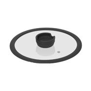 Стеклянная крышка с силиконовым ободом FÍna, 24 см