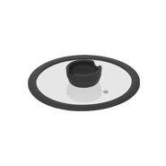 Стеклянная крышка с силиконовым ободом FÍna, 20 см
