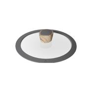 Стеклянная крышка с силиконовым ободом Mineralica, 20 см