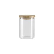 Ёмкость для сыпучих продуктов с крышкой из бамбука Viléma, 0,7 л