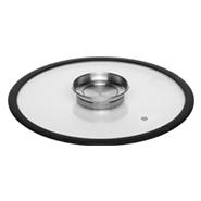 Стеклянная аромо-крышка с силиконовым ободом 20 см NATA 751515