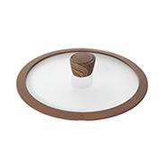 Стеклянная крышка с силиконовым ободом Gréta, 24 см