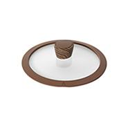 Стеклянная крышка с силиконовым ободом Gréta, 20 см
